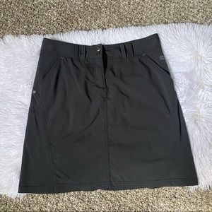 Jack Wolfskin Outdoor Black Skirt SZ S Small